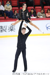 ナタリア・ザビヤコ&アレクサンドル・エンベルト選手