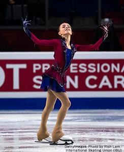優勝のアンナ・シェルバコワ選手