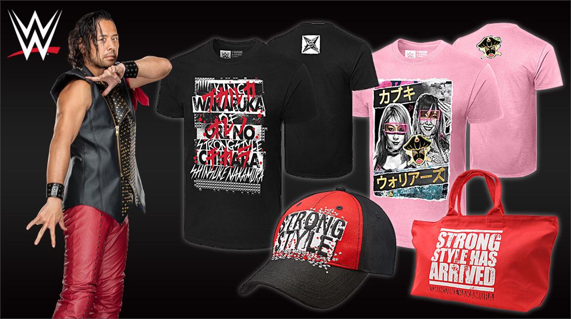WWEオフィシャルグッズ販売中!