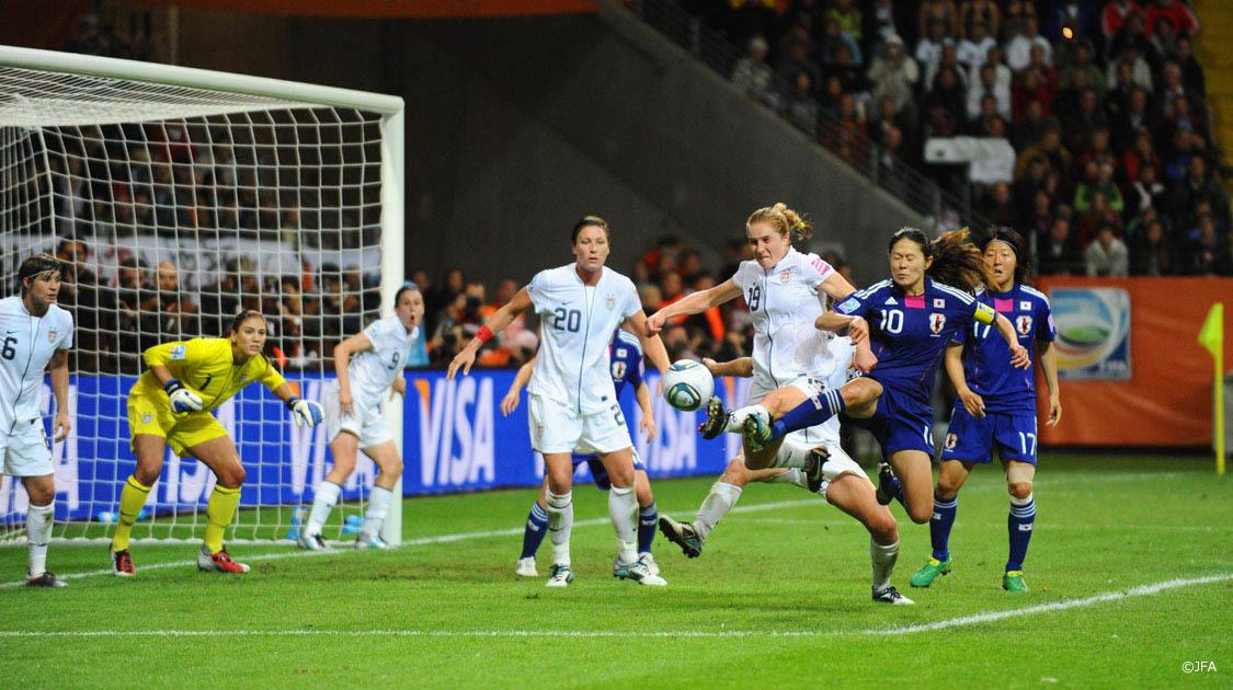 なでしこジャパン ワールドカップ初制覇