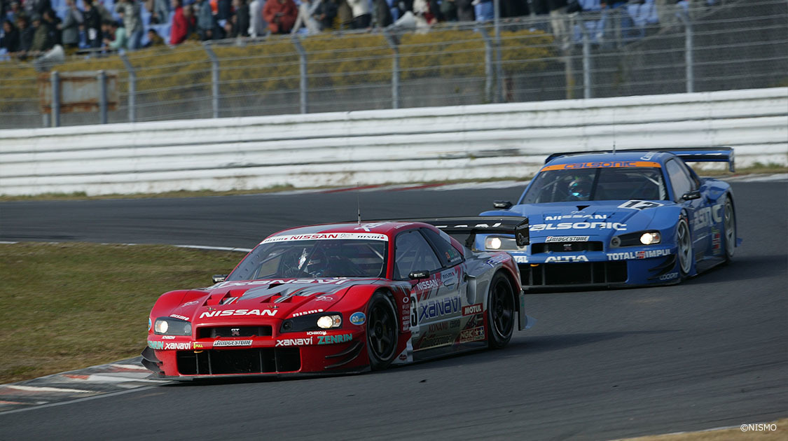 SUPER GT GT-Rリバイバル