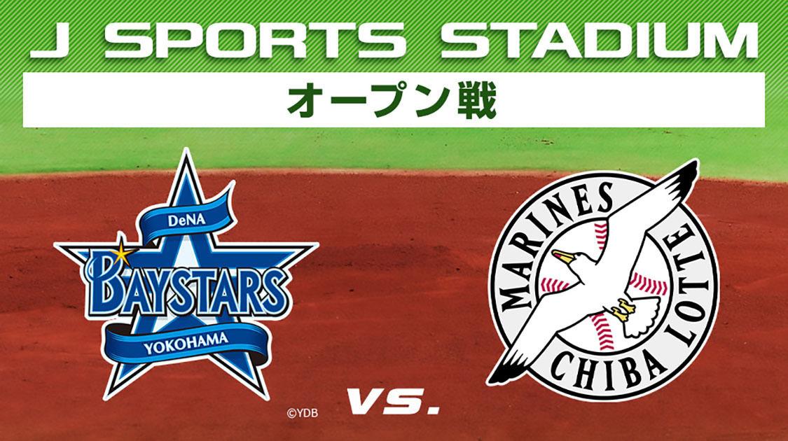 横浜DeNA vs. 千葉ロッテ