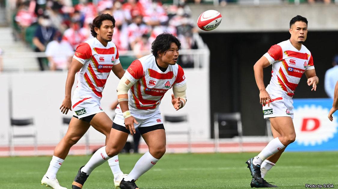 ラグビー日本代表テストマッチ2021