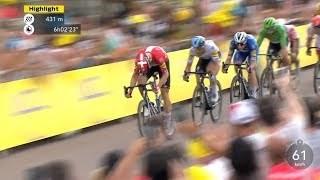 Cycle*2019 ツール・ド・フランス 第7ステージ ハイライト
